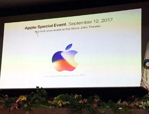 مراسم پخش زنده کنفرانس اپل ۲۰۱۷-قاصدک نماینده آروند در قزوین