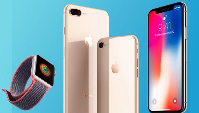 محصولات 2017 اپل
