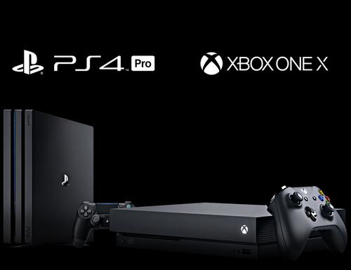 مقایسه PS4 Pro - Xbox One X - آروند